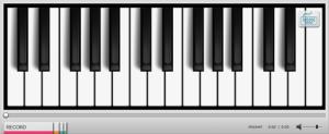 KissTunes, el piano en la web