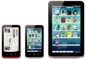 Sharp Galapagos, nuevo lector/tablet