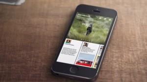 Paper, nueva app de facebook para IOS
