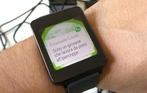 Relojes inteligentes ya cuentan con Whatsapp