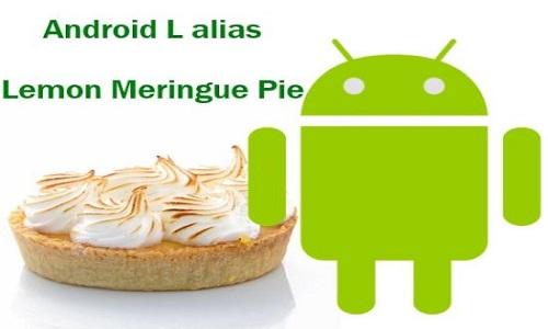 La nueva versión de Android se llamará Lemon Meringue Pie