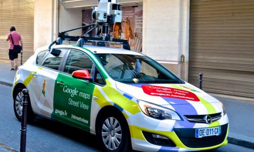 Los mapas más extraños de Google Maps