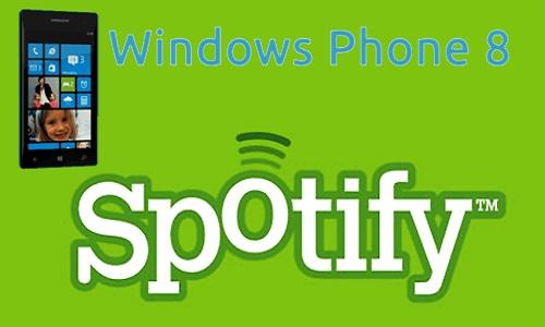 Spotify será gratis para los usuarios de Windows Phone