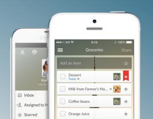 Wunderlist, el mejor gestor de tareas para iPhone
