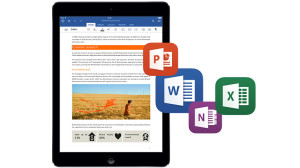 Ya está disponible MS Office para el iPad