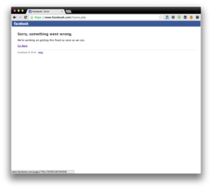 La caída de Facebook ha durado 40 minutos