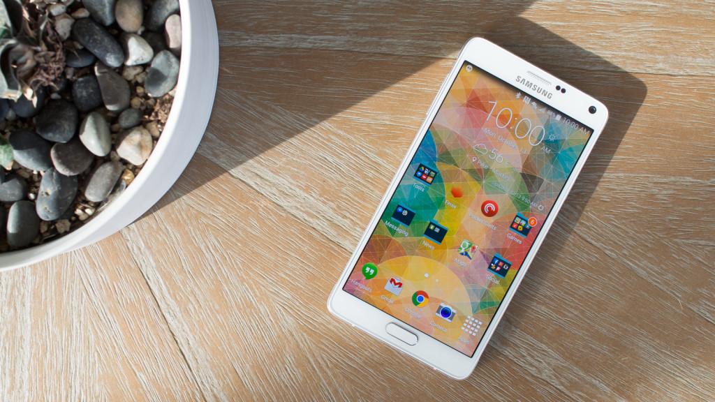 Foto del Galaxy Note 4
