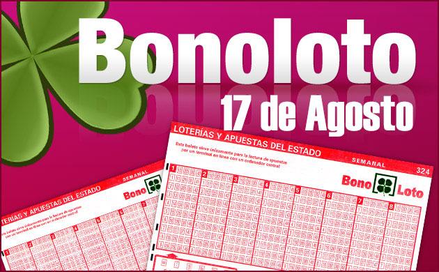 Bonoloto 17 de Agosto
