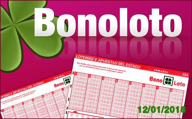 Resultado Bonoloto 12 enero