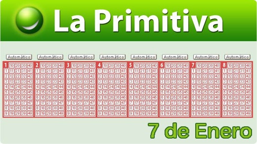 Comprobar primitiva 7 Enero