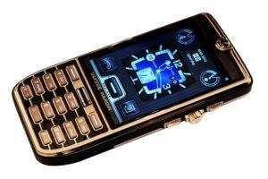 El teléfono más caro del mundo, de oro y con diamantes