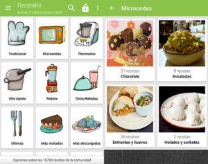 Recetario Villy, la app para convertirte en todo un chef