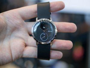 Steel HR, nuevo reloj inteligente de Nokia con 45 días de autonomía