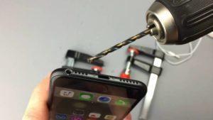 El sorprendente motivo por el que los usuarios taladran sus iPhone 7