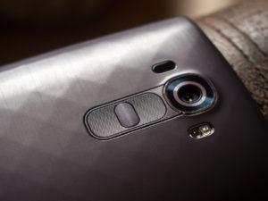 LG G6 con escáner de iris integrado
