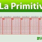 Resultados Primitiva sábado 21 de enero