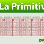Resultados Primitiva sábado 24 de marzo