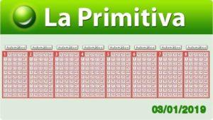 Resultados Primitiva jueves 3 de enero