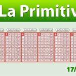 Resultados Primitiva jueves 17 de enero