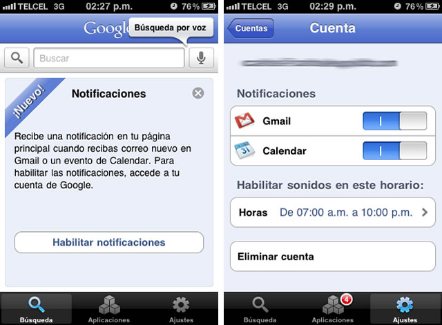 Google Mobile iPhone iPad